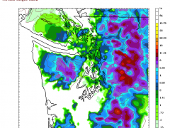 Surprise Snow for Seattle on Monday
