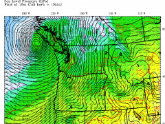 Near Miss Windstorm for Seattle