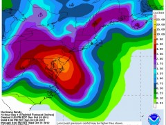 Something Wicked This Way Comes: Sandy to Slam East Coast