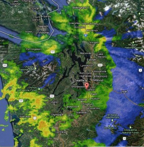 Olympic Rain Shadow December 2012
